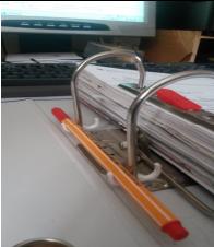 Stifthalter für Ordner 2