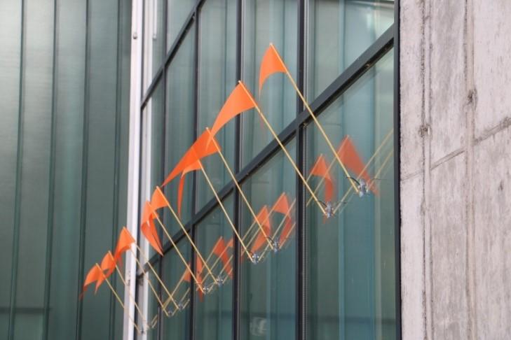 Vogelschutz für Glasfassaden 1